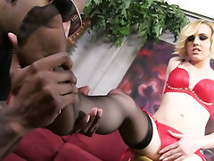 Ebony, Feet, Fetish, Panties, Stockings