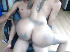 Amateur, Big Butts, Creampie, Big Ass, Anal