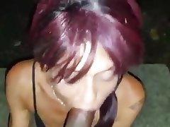 Blowjob, Cumshot, Big Black Cock