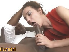 Anal, Blowjob, Masturbation, Facial, Interracial