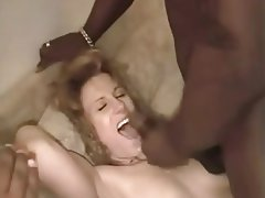 Amateur, Creampie, Interracial, Redhead, Threesome