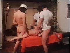 Group Sex, Hairy, Hardcore, Threesome, Vintage