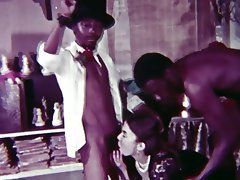 Interracial, Threesome, Vintage