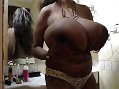BBW, Big Boobs, Masturbation, Nipples