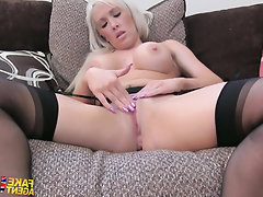 Anal, Babe, Blowjob, Casting, Stockings